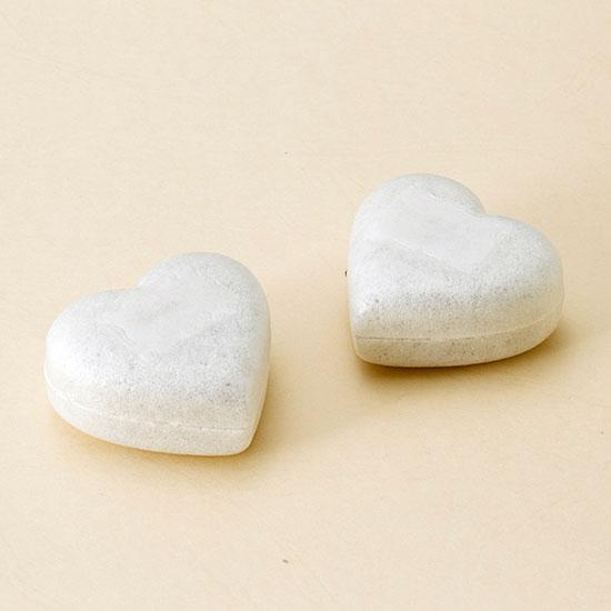画像1: ハートミルクチョコレートMonaca(ホワイト) (1)
