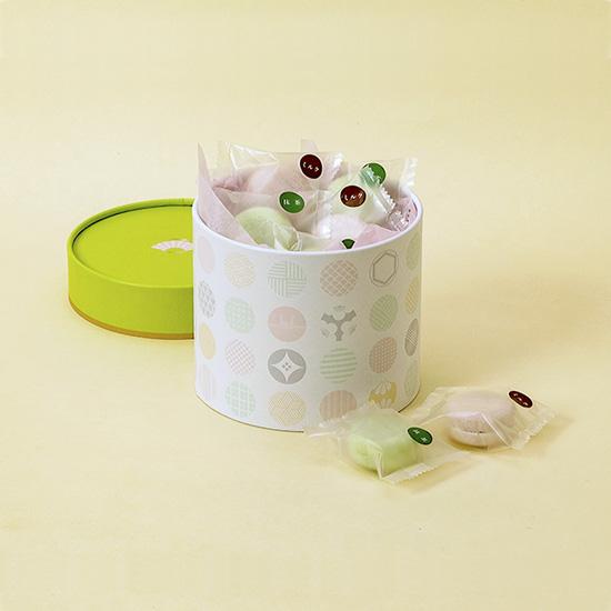 画像1: monaca 14個入(緑)チョコレートVer. (1)