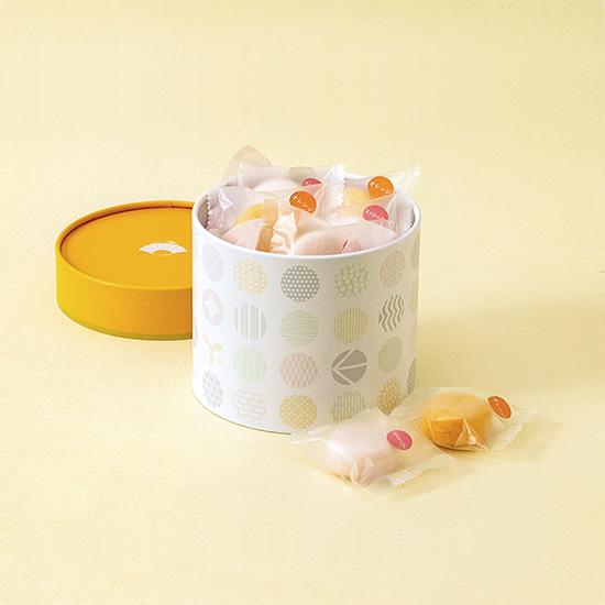 画像1: monaca 14個入(橙)チョコレート (1)