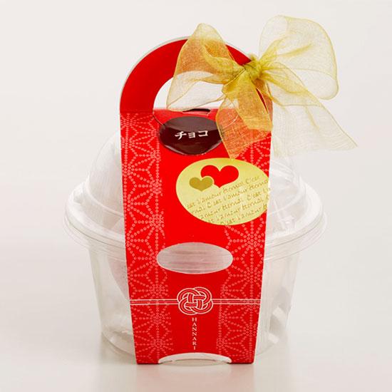 画像1: monaca Valentine 5個 チョコレート - はんなり - (1)