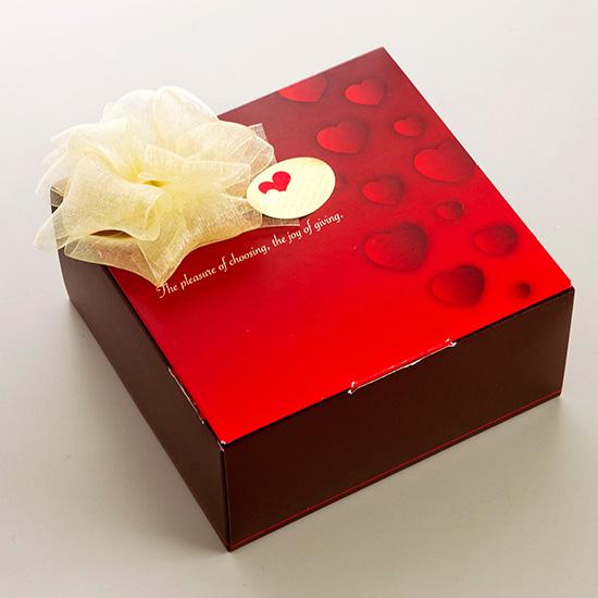 画像1: monaca Valentine はぁと 10個入(チョコレート) (1)