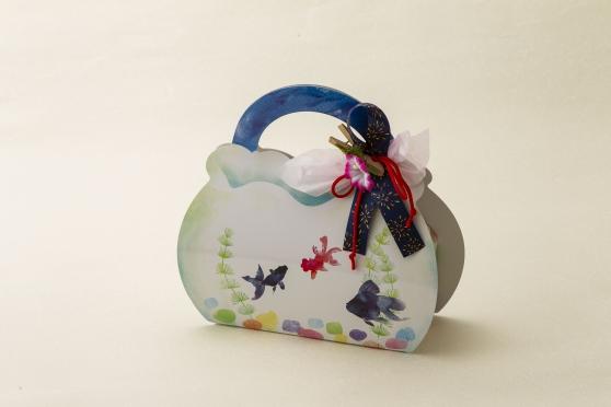 画像1: 金魚鉢Box チョコmonaca7個入 (1)