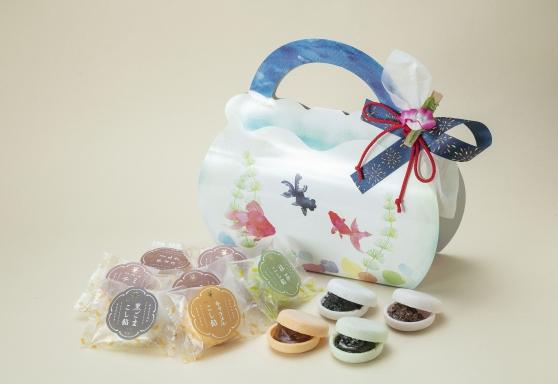 画像1: 金魚鉢Box monaca7個入(和洋) (1)